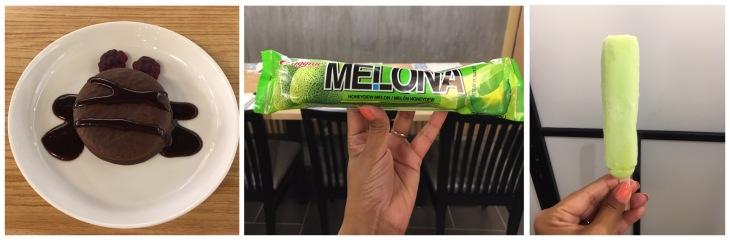 Melona ice candy from Korea
