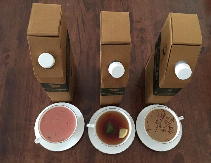 Tea delivery in Dubai