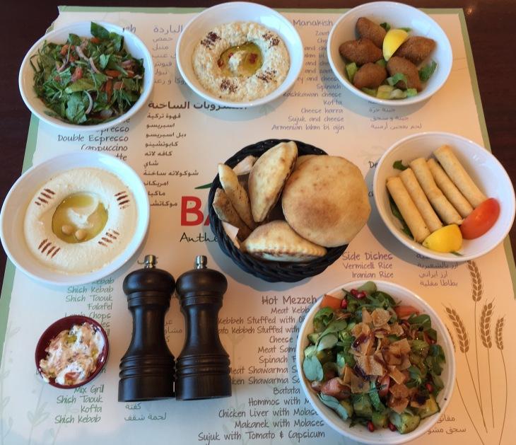 Baydar restaurant in Al Barsha