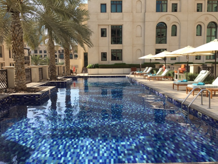 Swimming pool in Manzil Downtown