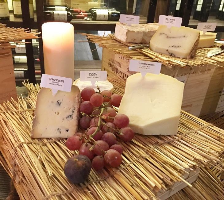 Cheese & wine night at The City Grill