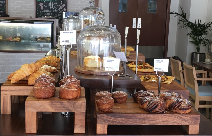 Artisanal bakery in Dubai