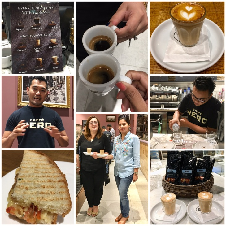 Caffé Nero in The Dubai Mall