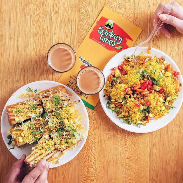 Bombay Times Restaurant in Dubai