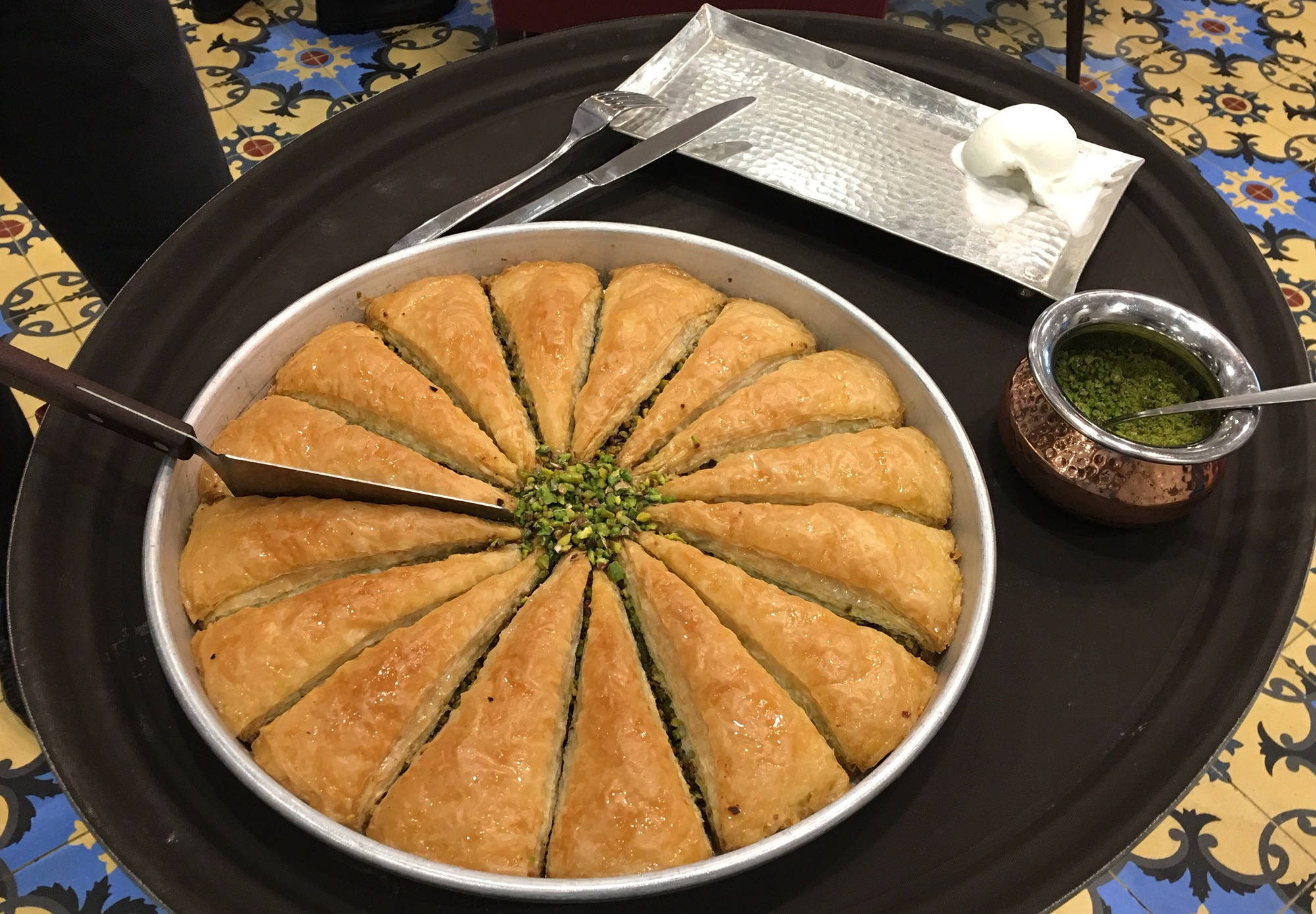 Turkish Lunch At Bosporus Restaurant The Dubai Mall Megsbloggedcom