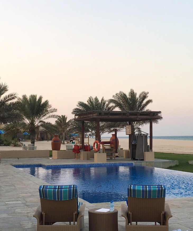 Swimming pool at Al Yamm Villas