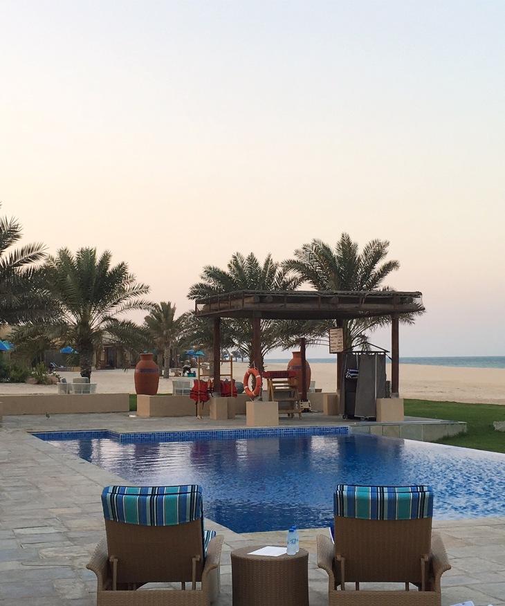 Swimming pool at Al Yamm Villas