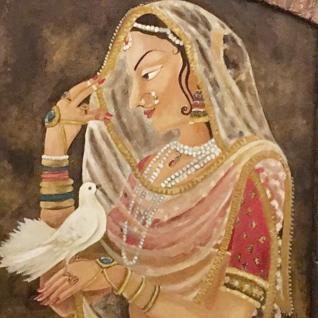 Mughal inspired decor