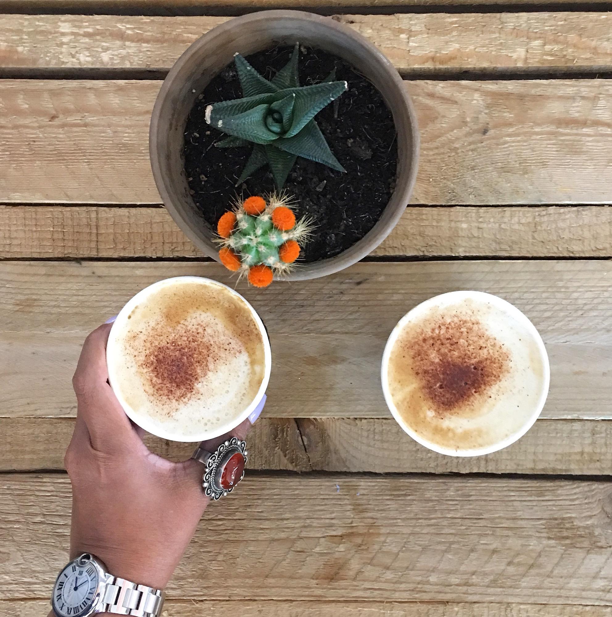 Artisanal Coffee at Ghaf Kitchen