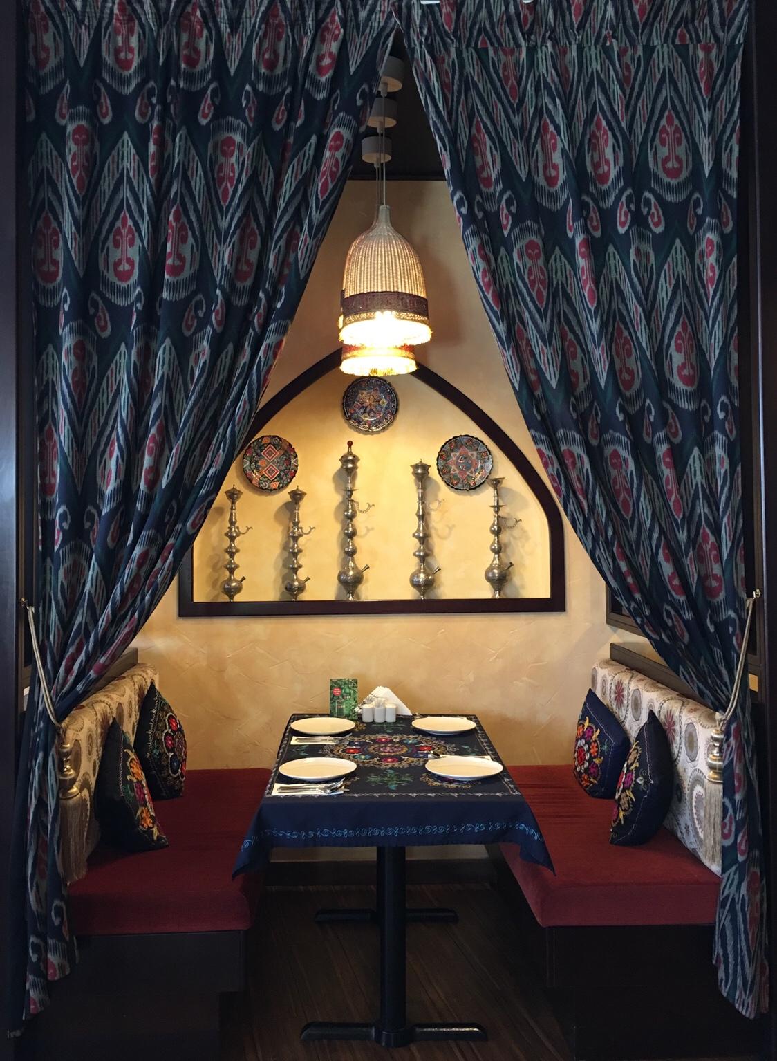 Uzbek restaurant in Dubai