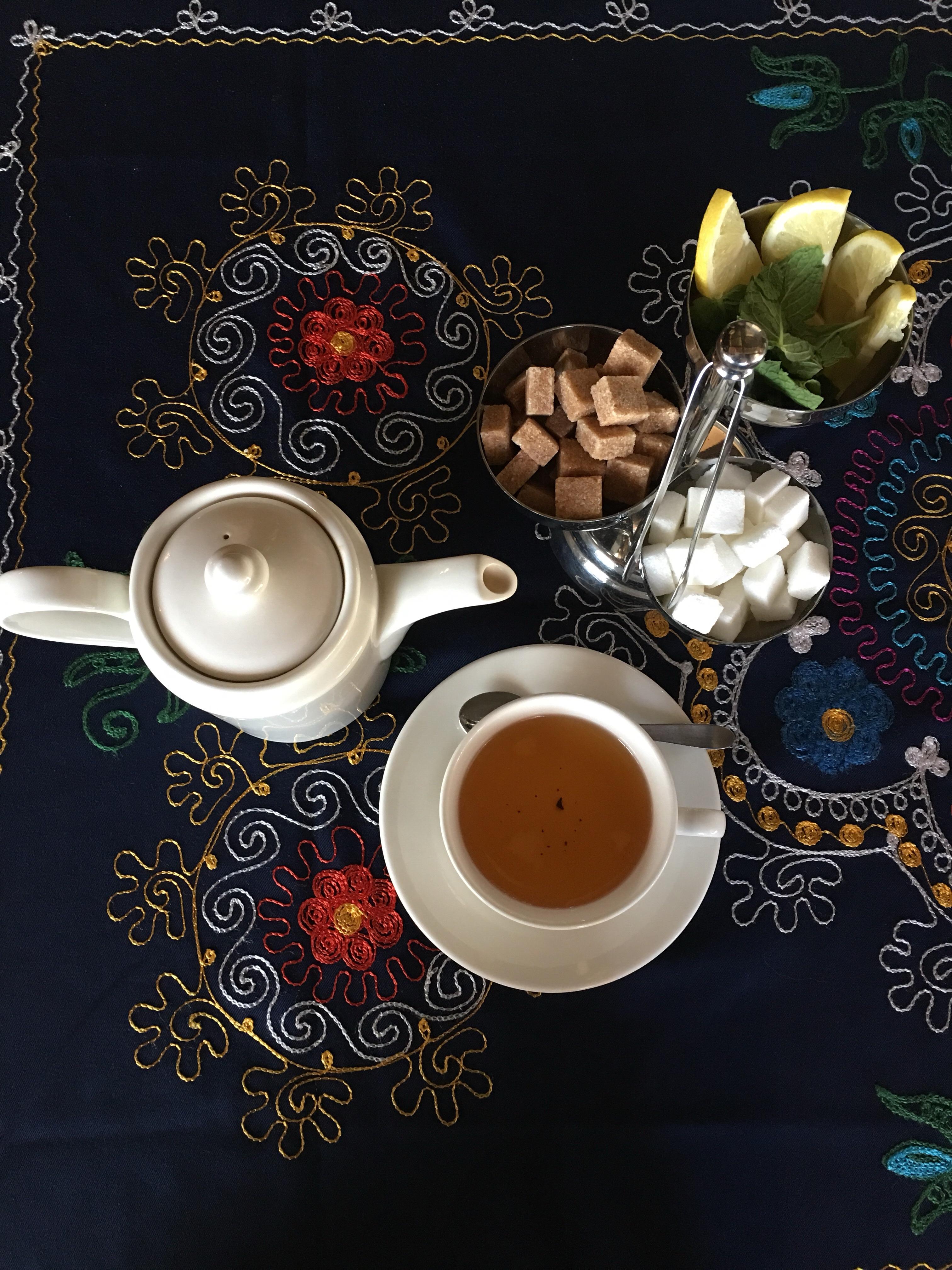 Uzbek black tea