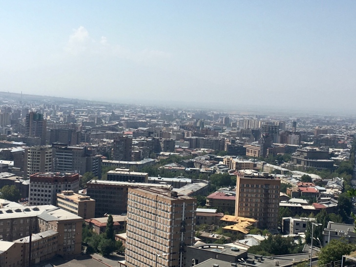 Yerevan city center