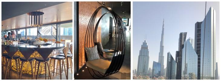 Burj Khalifa view restaurant