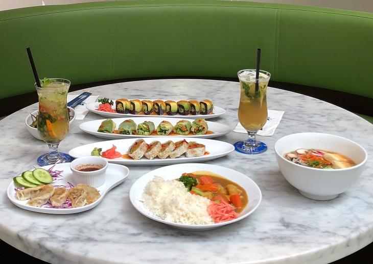 Vegetarian Japan food