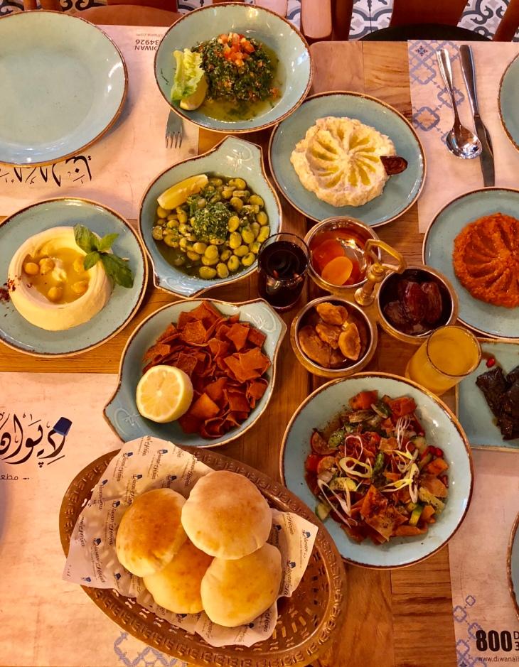 Diwan Al Hana Restaurant Dubai