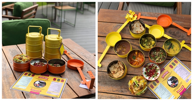 Tiffin box lunches in Dubai