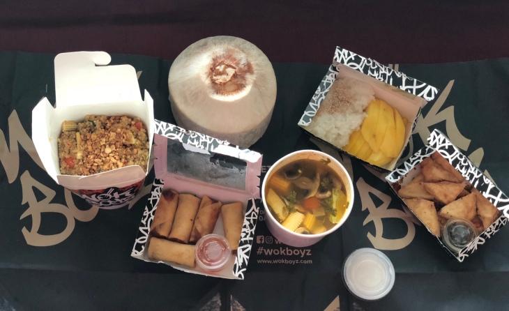 Wok style food in Dubai