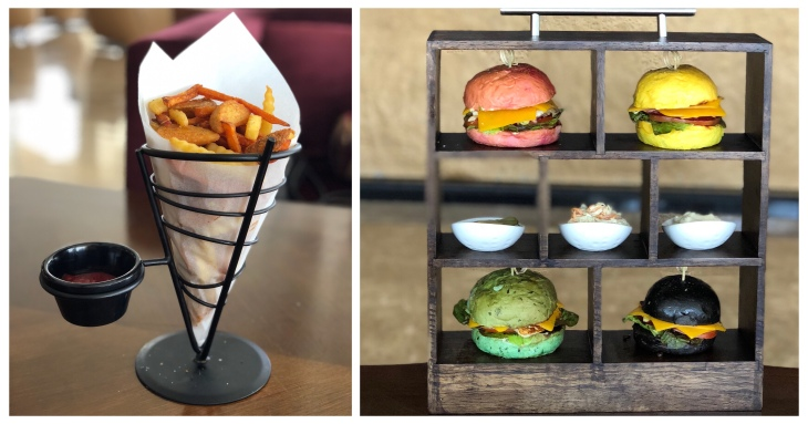 Halloumi burger