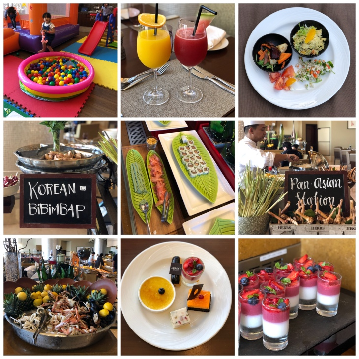 Playhouse brunch at Swissotel Al Ghurair