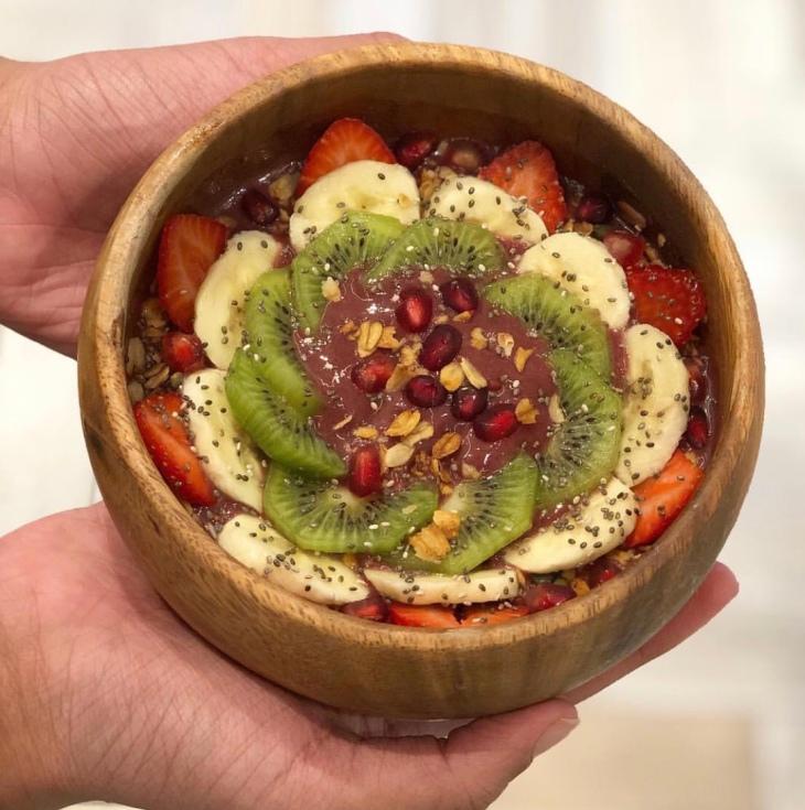 Açaí bowl in Dubai