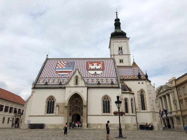 St.Mark Church Zagreb