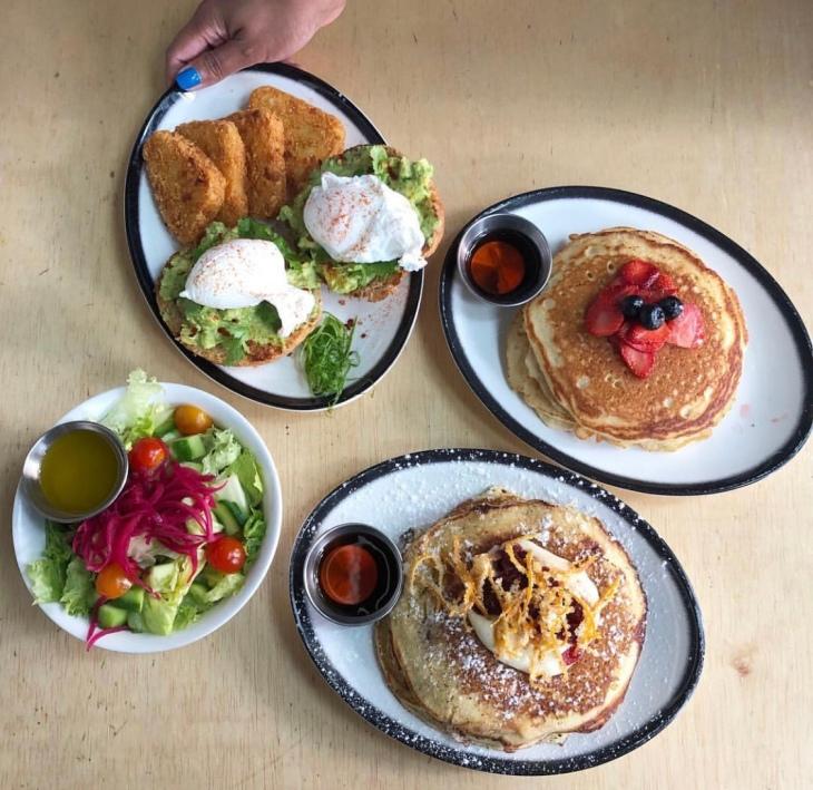 Black Tap Dubai Breakfast
