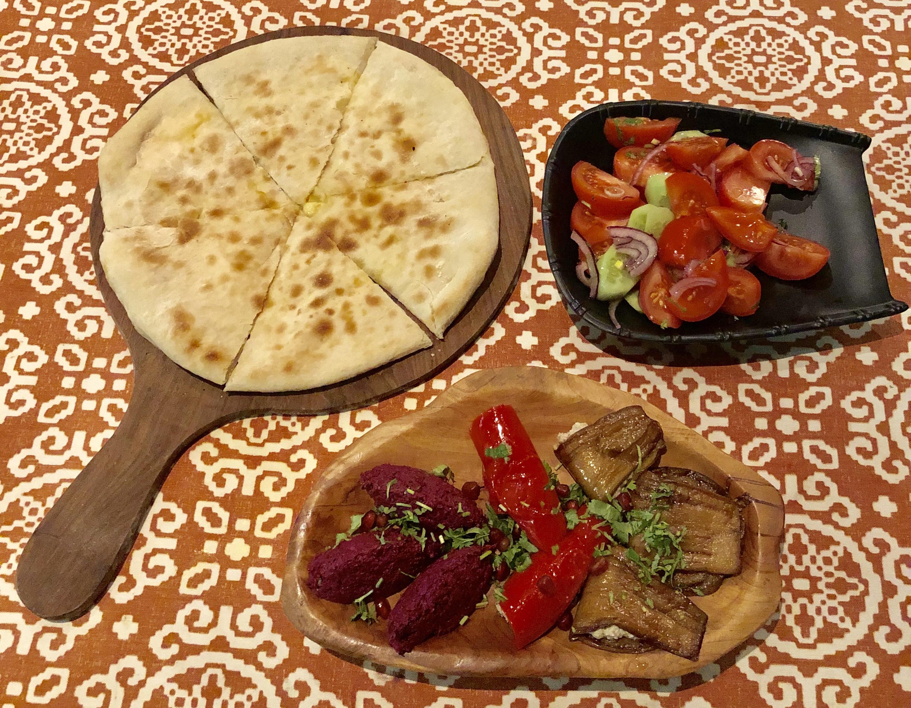 Georgian food in Dubai
