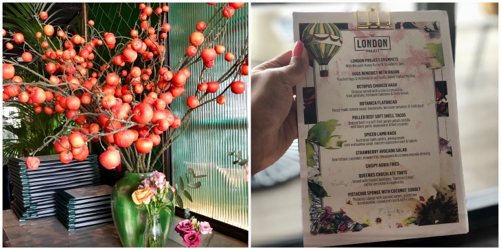 Brunch at the London Project
