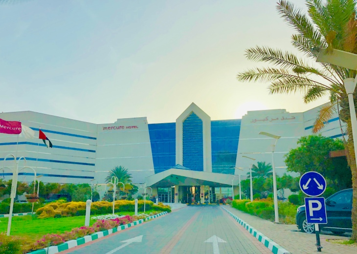 Staycation at Mercure Grand Jebel Hafeet