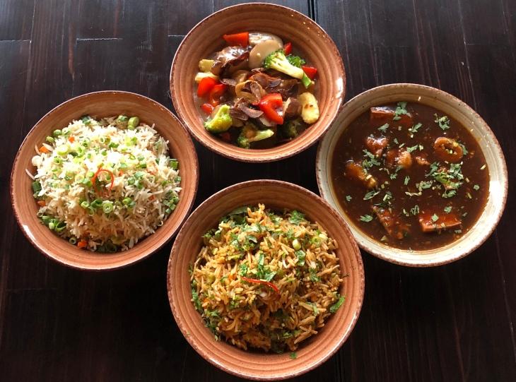 Triple Szechuan Fried Rice