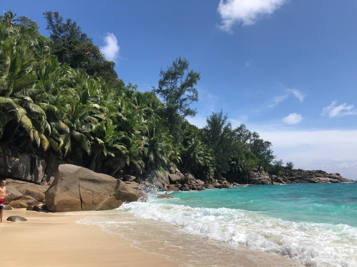 Beaches in Seychelles