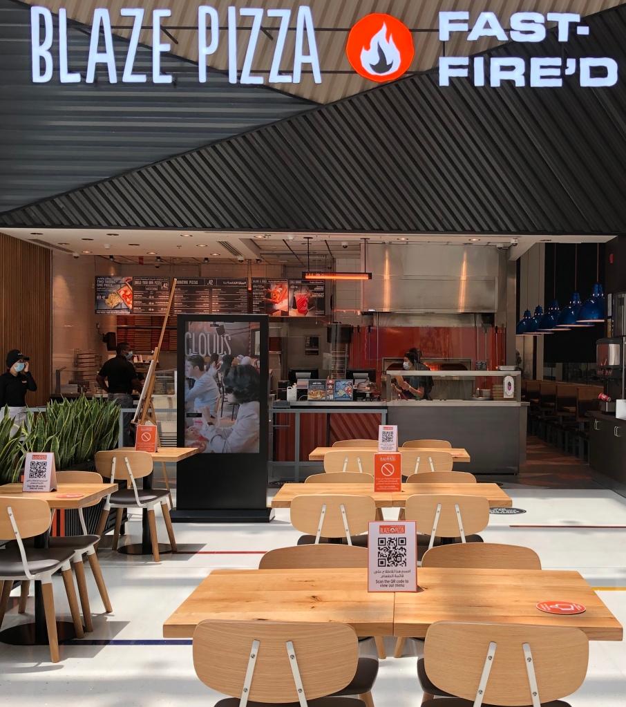 Blaze Pizza Dubai