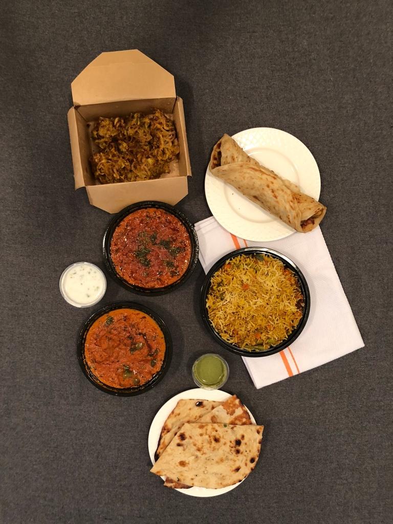 Dabang Kathi & Curry